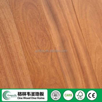 Competitive Price Fixed Length Doussie Engineered Wood Flooring