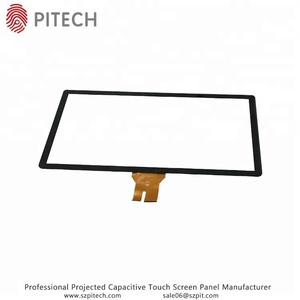 USB Interface 23.8 Inch Capacitive Touch Sensitive Glass For HMI Panel PC