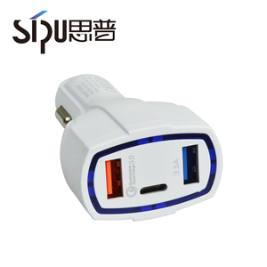 SIPU double usb charger for car