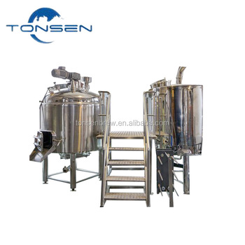 30BBL gold supplier draft beer brewery plant turnkey beer machinery