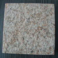 Low price flamed rusty yellow granite