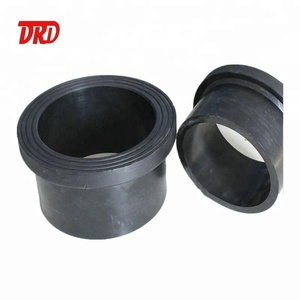 PE plastic pipe fittings dn355 pn10 flange stub end