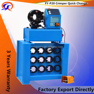 FY-P20 quick change tool ! CE multi dimension newest gates hydraulic hose crimping machine