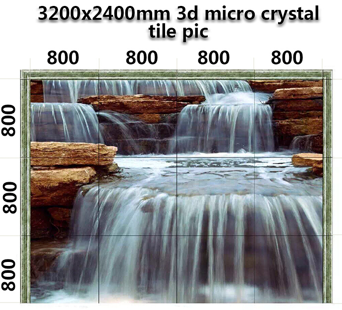 3d Picture Marble Glass Bathroom Ceramic Floor Tile Price
