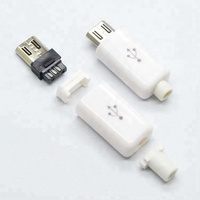high quality, micro usb plug, Male Vertical Micro USB Connector