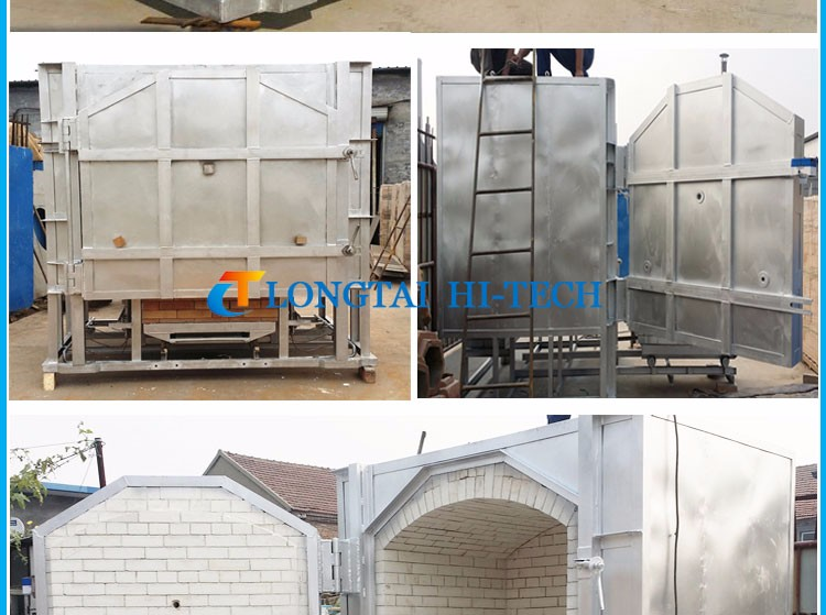 shuttle pottery kiln for ceramics