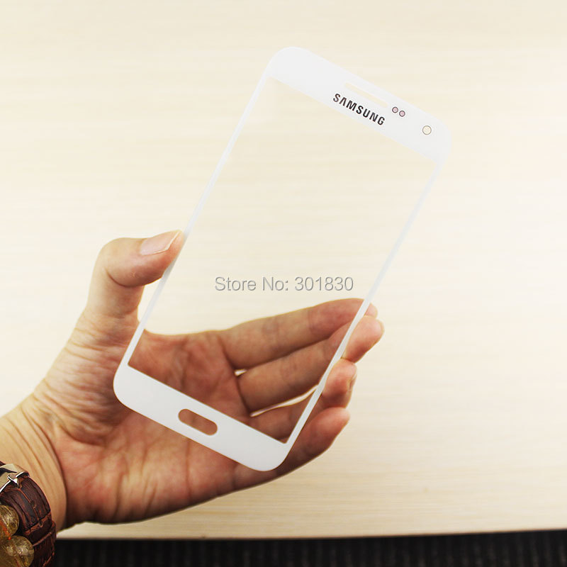 "WHITE Repair Glass Lens for Samsung Galaxy E5 /5.0"" Front Outer Glass Screen Lens LCD/Touch Screen Outer Panel"