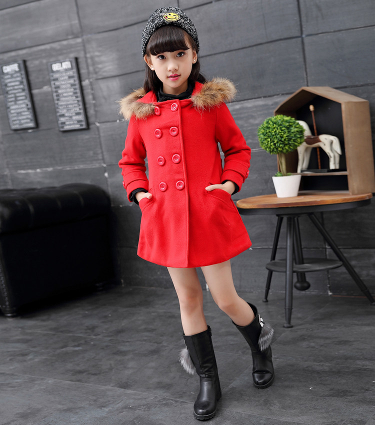 fe4606fa8 Girls Winter Coats Pictures Xmas Fashion Red Popular Jackets Clothes ...