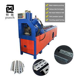 Angle Channel Oval Square Metal Steel Pipe Tube Hole Automatic Hydraulic CNC Punching Machine Price