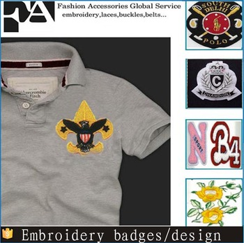 Custom Patches No Moq Embroidery Designs Embroidery Badge Buy