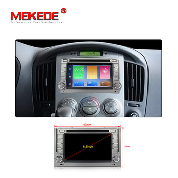 "Mekede Android9.1 Quad Core 6.2"" Car DVD GPS for Hyundai H1 Grand Starex 2007-2012 Autoradio Car Audio System with 2+32GB Wifi"