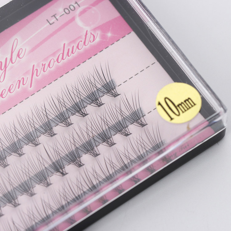 60 Bundle 6~14mm individual eyelash extension makeup cilia professional False Eyelashes