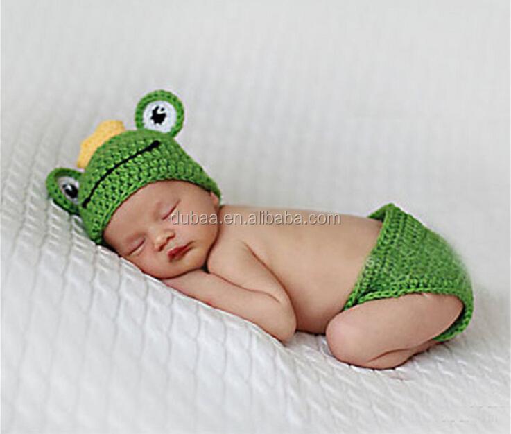 Baby Newborn Cap Toddler Infant Wool Handmade Knit Crochet Cosplay