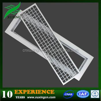 Hvac Detachable Aluminum Louver Profile