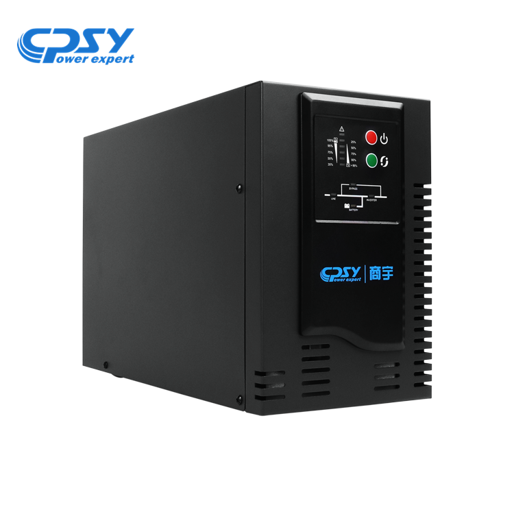 Hotsale high frequency online UPS power supply 1KVA 800W backup for PC