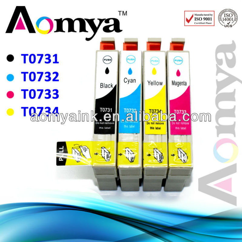 free shippment T0731/2/3/4 ink cartridge for Epson T10/ T11/ T13