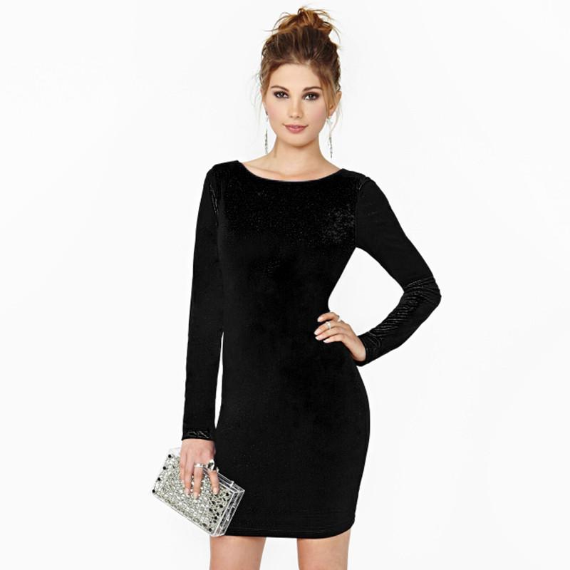 Vintage Black Long Sleeve Mini Velour Dress. Vintage dress - long sleeve, mini, velour. Model is ft ( cm) tall, she normally wears size archivesnapug.cf: £