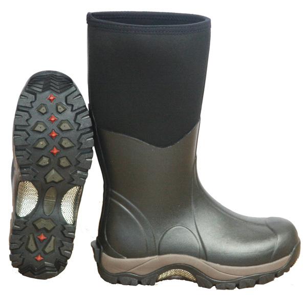 Mens Black Wellington Neoprene Muck Boots