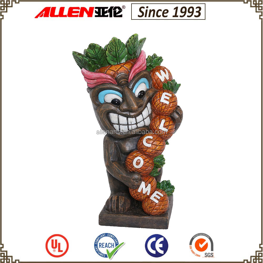 Garden Resin Tiki Statue, Garden Resin Tiki Statue Suppliers And  Manufacturers At Alibaba.com
