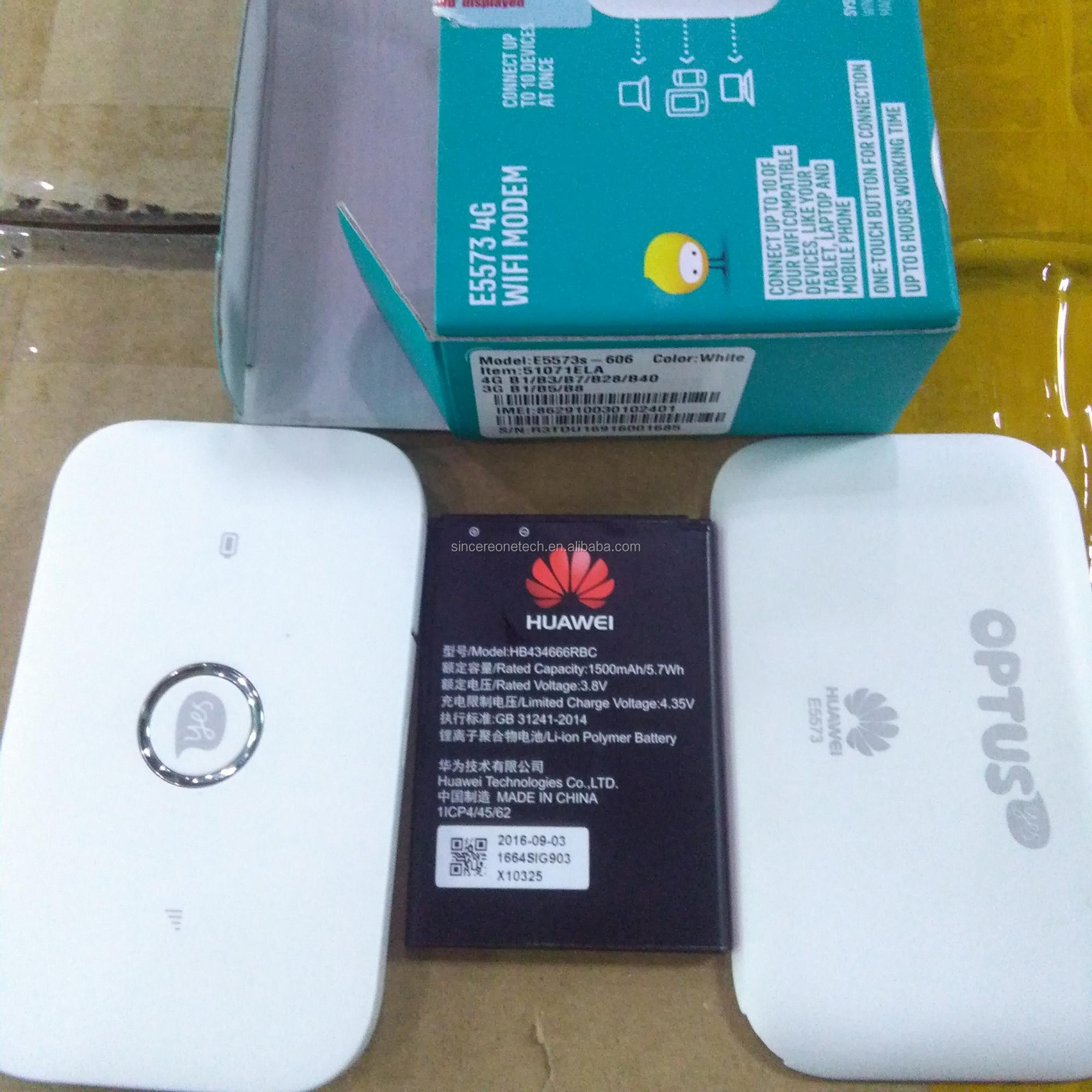 Hotsale 4g Wifi Router E5573s 606 Support Band 1 3 7 28 And 40 Modem Mifi Huawei E5573 Unlock All Gsm Tdd2300mhz Buy 606e5573s4g Product On