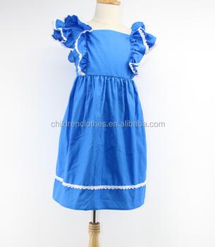 c00174726 Baby Normal Frock Designs Blue Girls Summer Long Dress - Buy Girls Summer  Long Dress