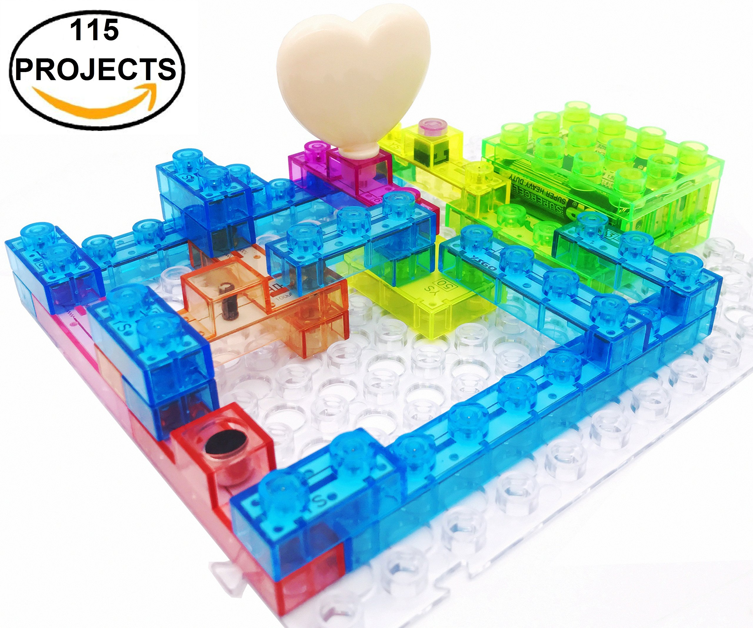 cheap kids building projects, find kids building projects deals onget quotations · 7tech 115 projects integrated circuit electronic building blocks diy brain game educational science toys for kids