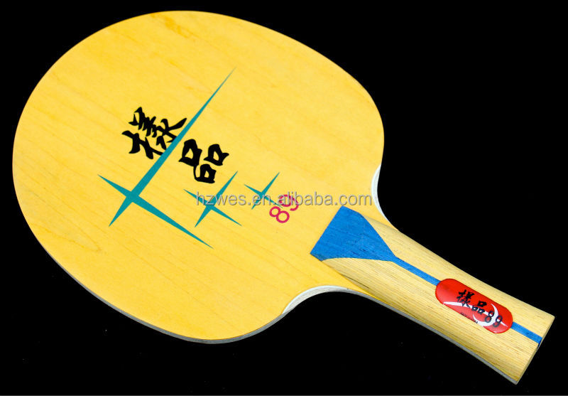 NO.89 professional table tennis blade Basewood Candlenut