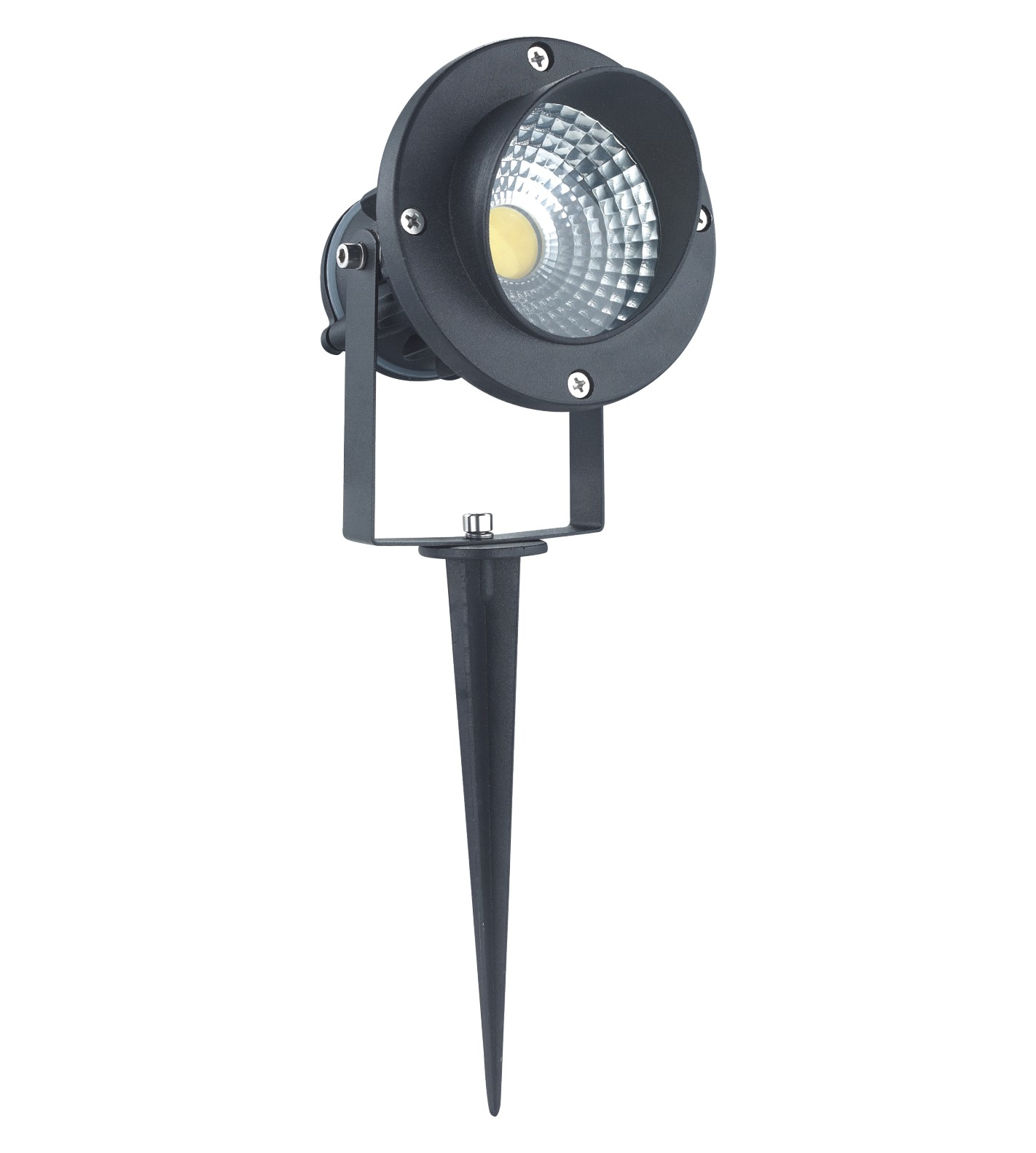 7w 12v Cob Spike Led Spot Light/garden Led Light With 2 Years ...