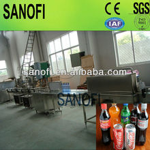 Split type soft drink filling production line