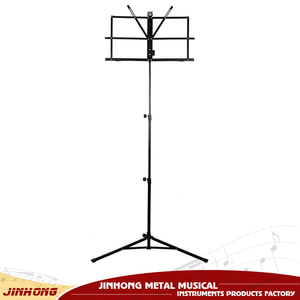 Aluminum head small music stand for universal musical instruments