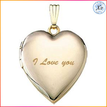 Personalized engraving gold heart shaped locket pendant necklace personalized engraving gold heart shaped locket pendant necklace aloadofball Choice Image
