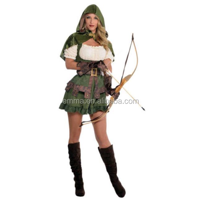Adulto Uomo Medievale Monaco Frate Tuck Robin Hood Costume Stag Do Costume NUOVO