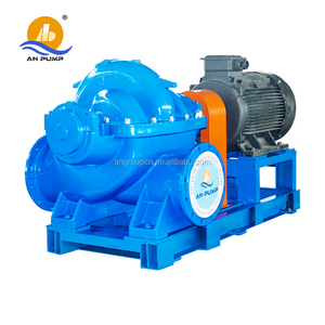 Shijiazhuang An Pump Machinery Large Capacity Split Case Double Suction Water Pump Pumping Machine With Price