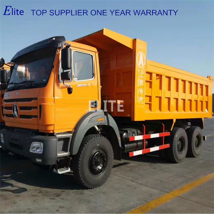 Top supplier China Beiben 30ton tipper truck 10 wheel 6x4 dump truck best price