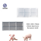 Easy to Use and Install Animal Cheap PVC Poultry Pig Plastic Slat Flooring Mould for Piggery Equipment with Free Sample