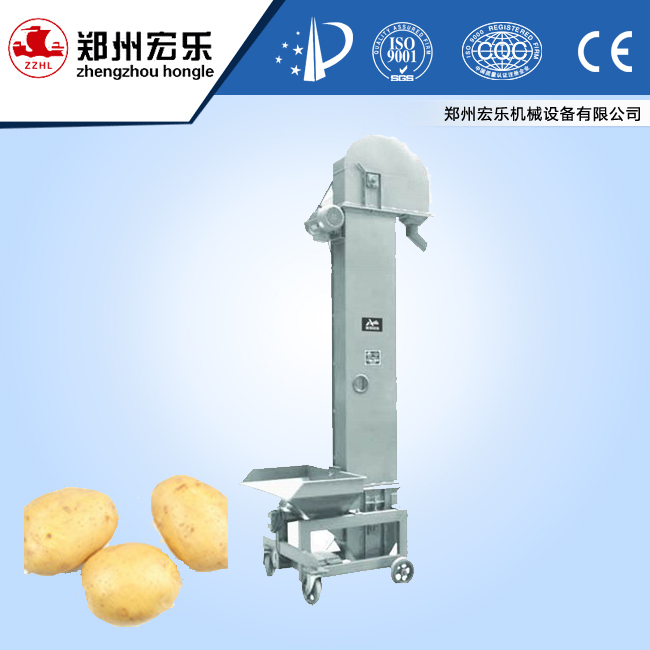 Potato type of block vertical bucket elevator