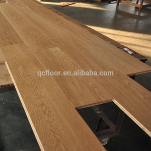 Light Color Oak Engineered Flooring / 3-ply Wooden boards/Parquet floors