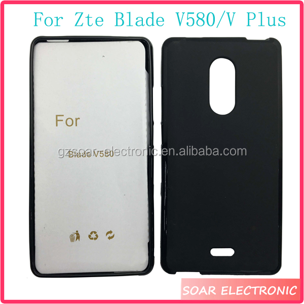 [Soar]Guangzhou Mobile Phone Accessories Flexible TPU Gel Rubber Case Cover For Zte Blade V580/V Plus