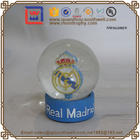 Crafts/gifts Resin Madrid Memorial Snow Globe Glass Water Ball ...