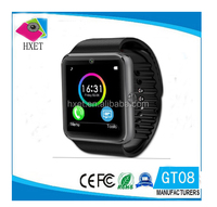 The Hottest Bluetooth Smart Watch Mobile Phone GT08 With V 3.0 Bulethooth MTK6261