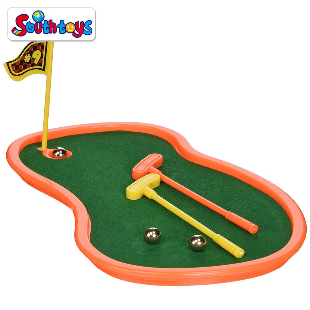 Vinger Sport 2 Speler Putting Action Game Mini Golf Golfen Cursus