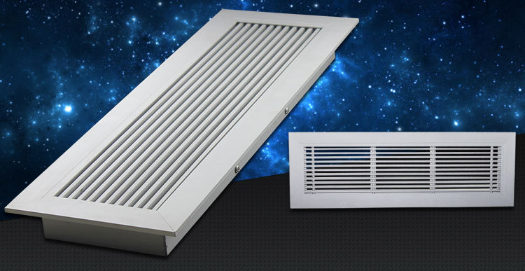 Hvac decorativo vuelta aire aluminio rejilla de aire con for 12x6 floor register
