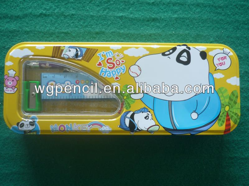 cute stationery, metal box set