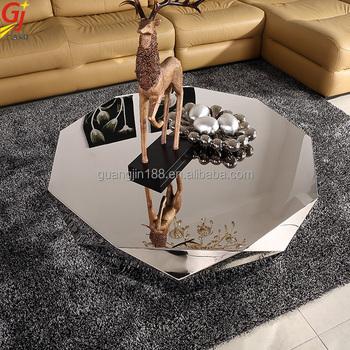 mirror stainless steel diamond table coffee prices in the home center. Mirror Stainless Steel Diamond Table Coffee Prices In The Home