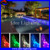 IP68 color changing fiber optic led diy pool light with remote control