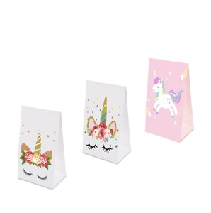 Unicorn Candy Box Party Favor Bags Goodies Gift Favors Supplies Party Return Gifts