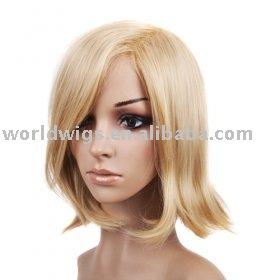 Brilliant Short Straight Blonde Bob Hair Wig Buy Synthetic Hair Wig Human Hairstyles For Women Draintrainus