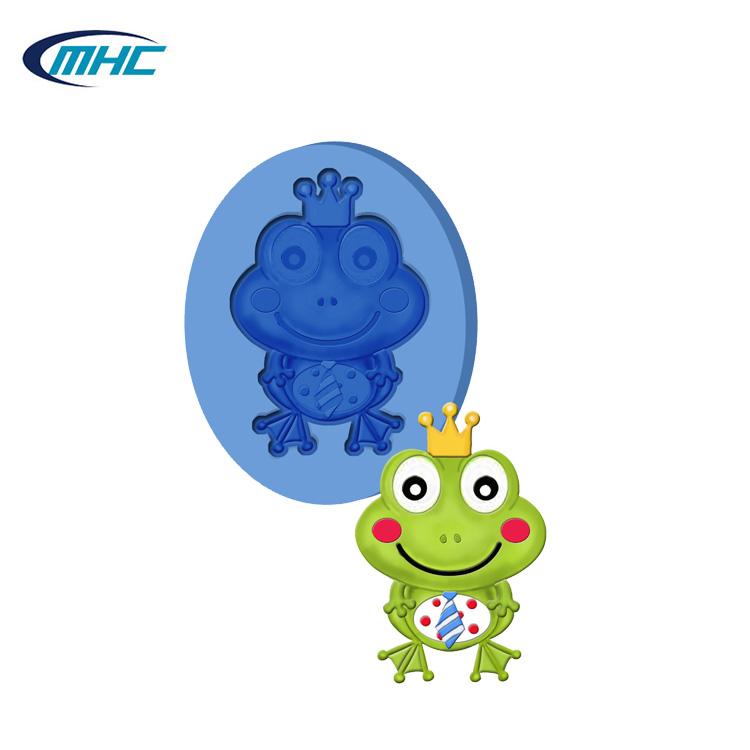 Cake Molds Humorous Spot Wholesale Multi-expression Cartoon Silicone Large Eye Frog Chocolate Ice Mold Xg628