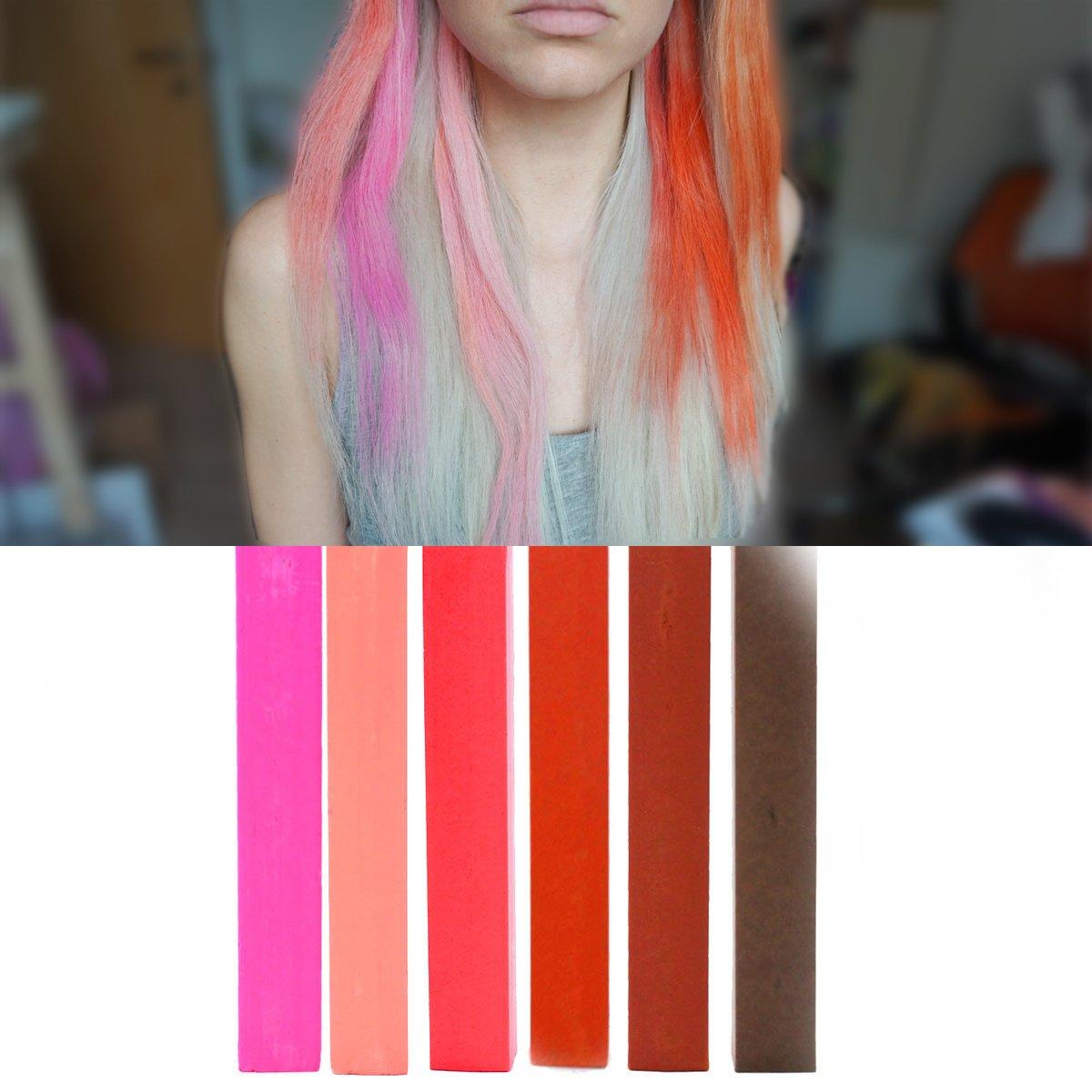 Buy Marsala Mix Hair Dye Set Of 6 Maroon Ombre Macaroons Reddish