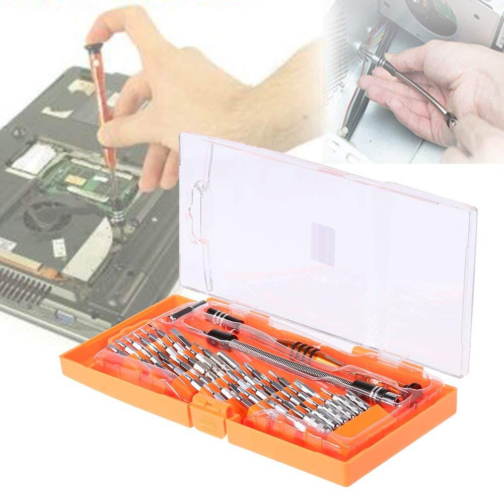 BUPADEALER 58 in 1 Laptop Screwdriver Set Professional Repair Hand Tools Kit for Mobile Phone Computer Electronic Model DIY Repair